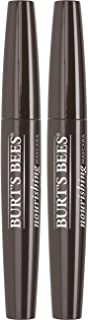 Burt's Bees 100% Natural Origin Nourishing Mascara, Black Brown - 0.4 Ounce (Pack of 2)