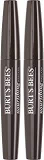 Burt's Bees 100% Natural Origin Nourishing Mascara, Black Brown - 0.4 Ounce (Pack of 2)