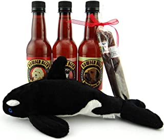 Bowser Beer Gift Pack for Dogs with Squeaky Toy and Treats