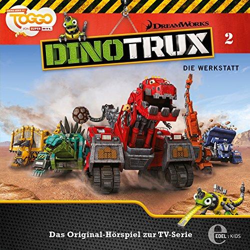 Die Werkstatt     Dinotrux 2              Autor:                                                                                                                                 Thomas Karallus                               Sprecher:                                                                                                                                 Holger Mahlich,                                                                                        Jochen Langner,                                                                                        Christian Wunderlich,                   und andere                 Spieldauer: 40 Min.     Noch nicht bewertet     Gesamt 0,0