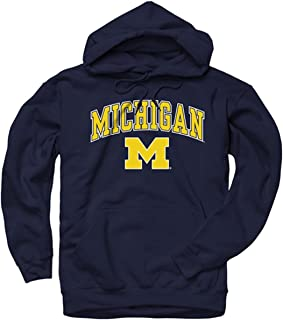 Campus Colors NCAA Adult Arch & Logo Gameday Hooded Sweatshirt - Multiple Teams