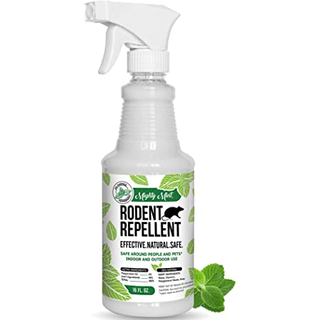Mighty Mint 16oz Peppermint Oil Rodent Repellent Spray