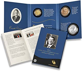 2016 W P S Presidential Coin & Chronicles Set Ronald Reagan 16PA Mint Packaged