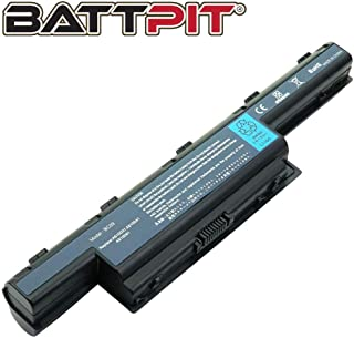 Battpit Laptop Battery for Acer AS10D31 AS10D51 AS10D56 AS10D75 AS10D81 AS10D61 AS10D41 AS10D73 AS10D71 AS10D3E Aspire 5250 5733z 5750 7741 5733 5755 5253 - High Performance [6600 mAh/71Wh]