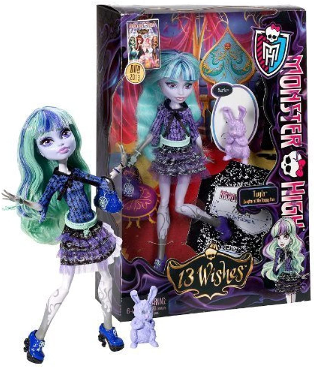 Twyla 9.5  Monster '13 Wishes' Figure Playset by Mattel