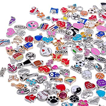 Best floating locket charms wholesale Reviews