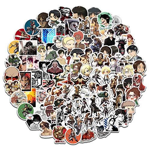 HUNSHA 100 anime dibujos animados teléfono móvil ordenador coche tableta equipaje papelería pegatinas