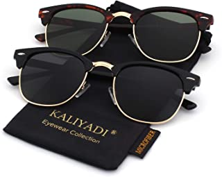 Unisex Polarized Sunglasses Stylish Sun Glasses for Men...