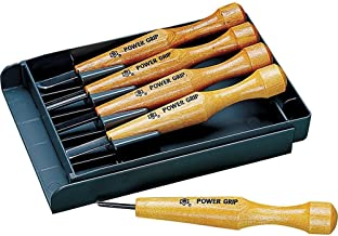 Mikisyo Power Grip Carving Tools, Five Piece Set (Basic)