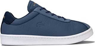 Lacoste Womens Masters Leather Trainers Sneakers in Dark Blue/Navy.