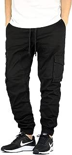 Men's Premium Twill Drop Crotch Jogger Pants S-5XL