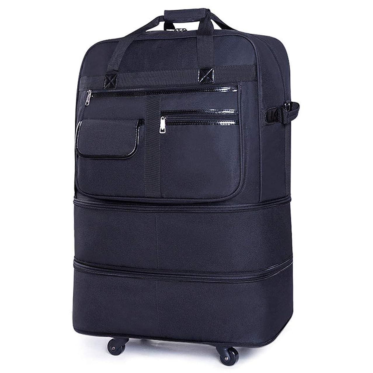 変数デモンストレーションレイMZTYX Us カジュアル 軽量 拡張可能 機内持ち込みバッグ 折りたたみ式 ユニバーサルホイール スーツケース 5 ホイール ローリング 旅行バッグ 防水 オックスフォード 布 荷物 男女兼用