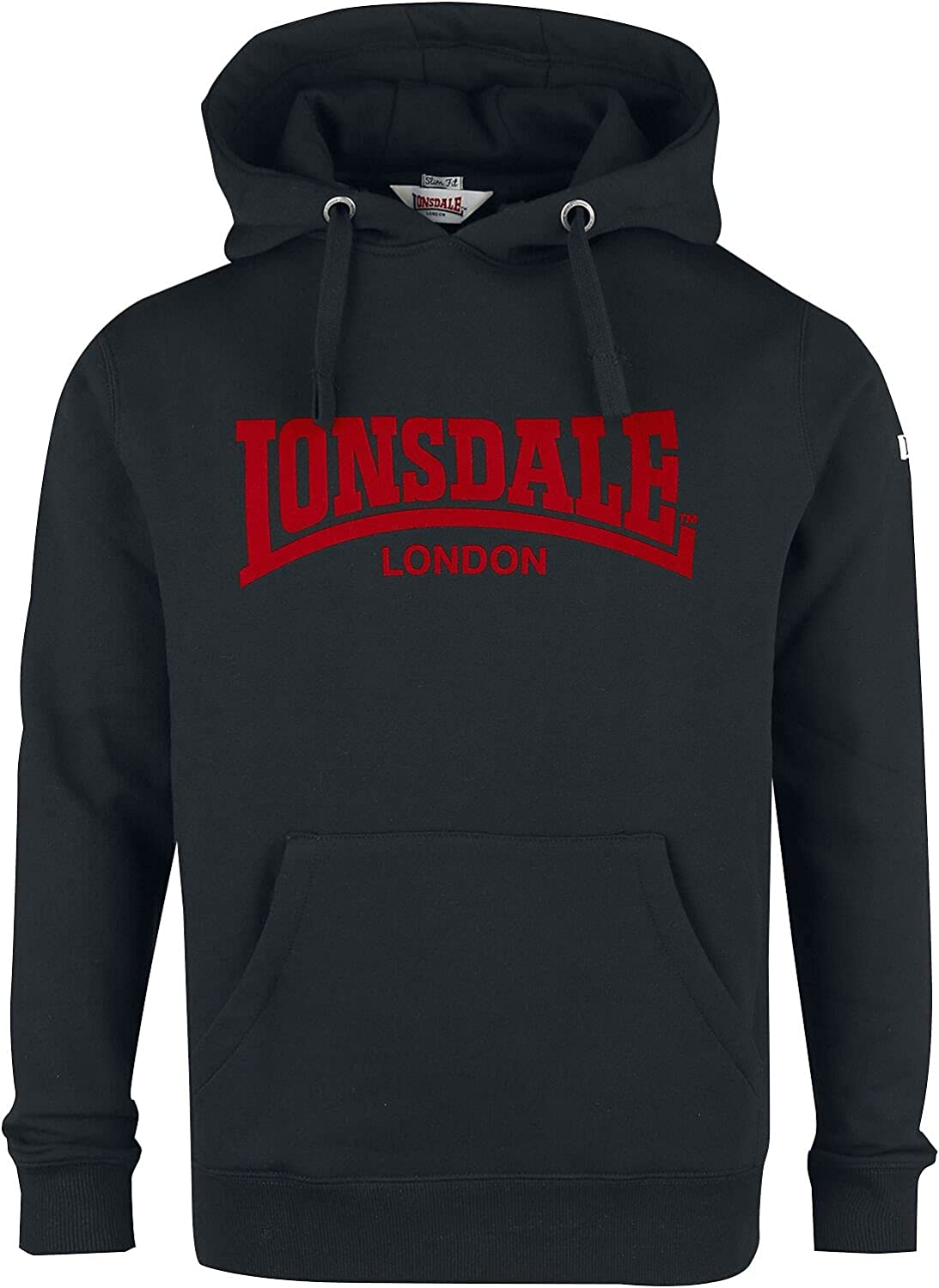 Lonsdale Hooded One Tone Sudadera con Capucha Hombre