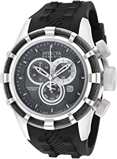 Invicta Men's 15783 Bolt Analog Display Swiss Quartz Black Watch