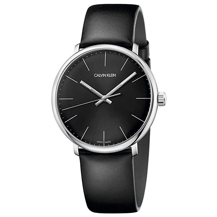 Calvin Klein  High Noon Watch - K8M211C1 (Black) Watches