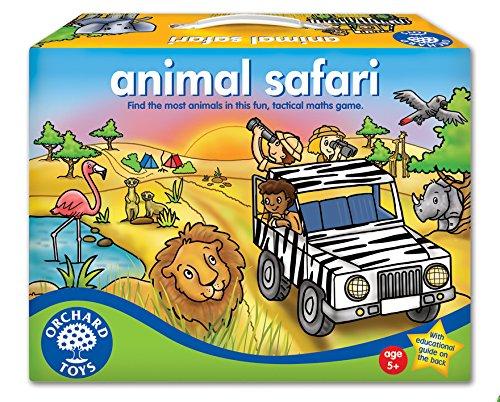 Orchard Toys - Gioco da tavola educativo Animal Safari, 5+ Anni [Lingua Inglese]