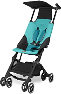 Best gb Pockit Ultra Compact Lightweight Travel Stroller in Capri Blue, The World