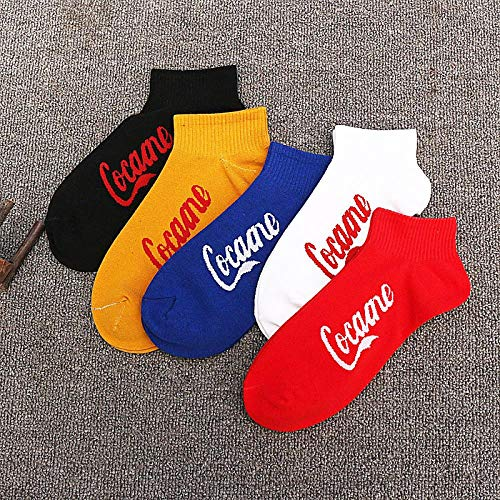 GJKS sokken heren katoenen sokken mannen sokken Tide deodorant zweet-absorberende vier seizoenen korte buis Tide merk