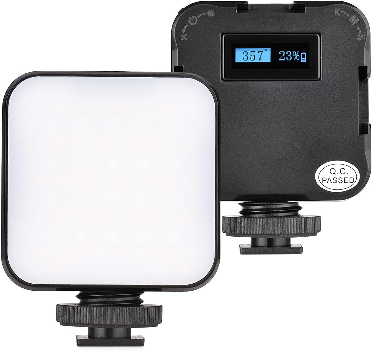 ST60RGB Mini RGB Video Light Lightweight Portable Shipping ...