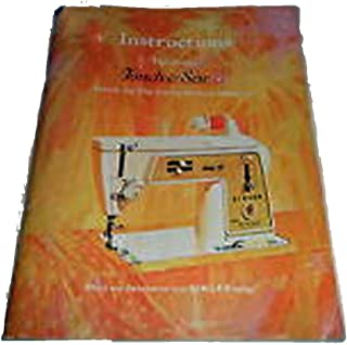 INSTRUCTIONS: THE GOLDEN TOUCH & SEW DELUXE ZIG-ZAG SEWING MACHINE MODEL 620. [cover title]