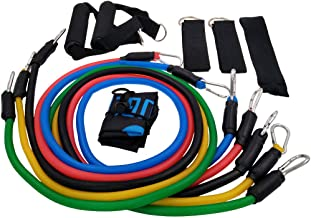 Demana Pull Rope Fitness Exercises Resistance Bands Latex Exercise Tubes Practical Elastic Training Rope Yoga Pull String 11pcs / Set