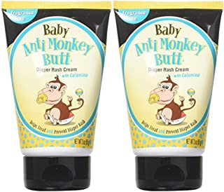 Anti Monkey Butt Baby Diaper Rash Cream 3 Oz Pack of 2