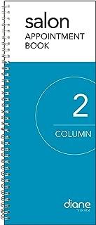 Diane 2-Column Salon Appointment Book (DEO001)