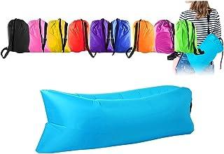 Saco hinchable con aire multiuso: cuna, colchón, hamaca, vacaciones, mar, playa, relax