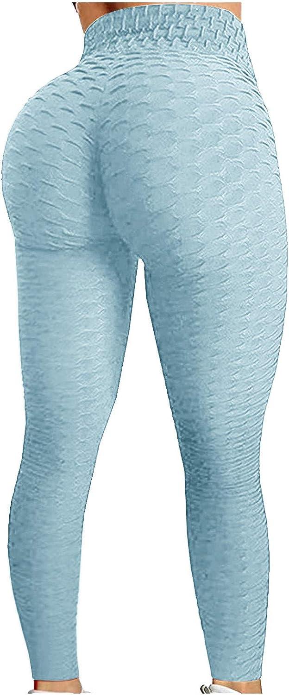 Women's High Waist Yoga Pants Booty Lifting Butt Lift Leggings Athletic Legging