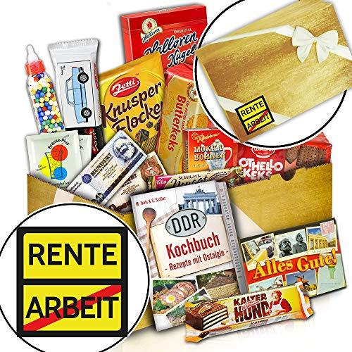 Süßes Ostpaket + Geschenk bald Rentner + Rente + DDR Waren