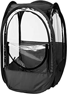 Under the Weather StadiumPod 1 Person Sports Tent for Stadium Seating. The Original, Patented WeatherPod