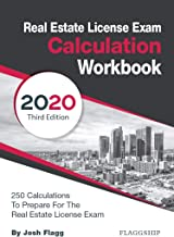 Sponsored Ad - Real Estate License Exam Calculation Workbook: 250 Calculations to Prepare for the Real Estate License Exam...