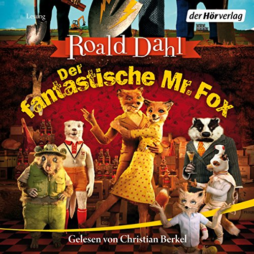 Der fantastische Mr. Fox audiobook cover art