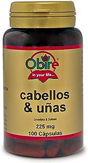 Obire. Cabellos y Uñas. 100 Cáps. 225 mg