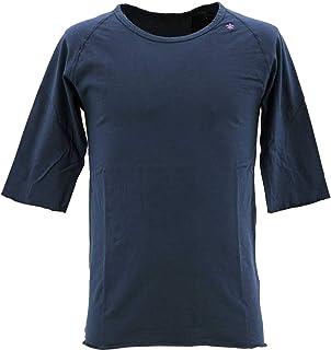 [SWEEP!! LosAngeles スウィープ ロサンゼルス] メンズ コットン 5分袖 ラグランスリーブTシャツ RAGLAN SWFJRLN-03 MALINE(ブルー)