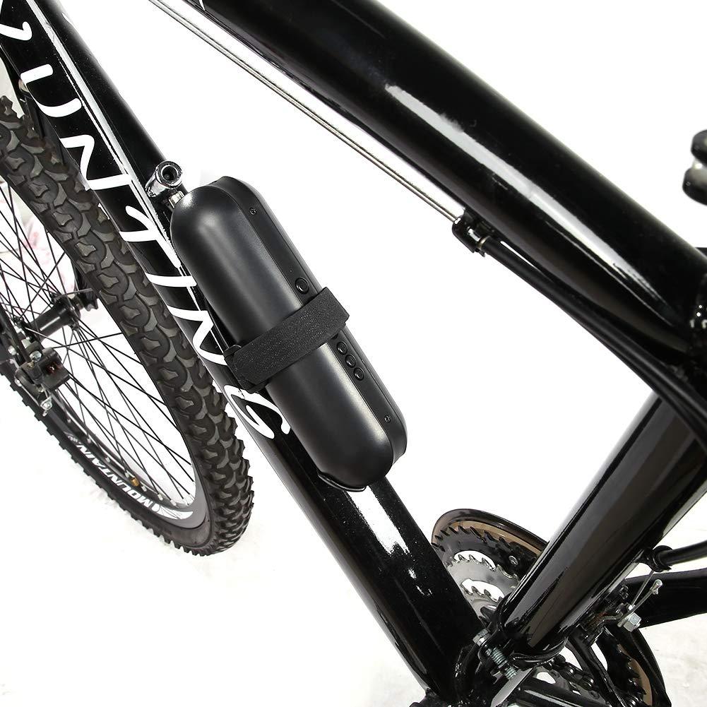 Compresor de aire portátil Mini inflador Bomba eléctrica Bicicleta ...