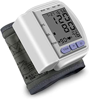 LUFKLAHN Tensiómetro automático Inteligente, hogar Brazo portátil Monitor de presión Arterial