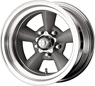 American Racing Hot Rod TTO VN309 Painted Gray Wheel with Machined Lip (15x5