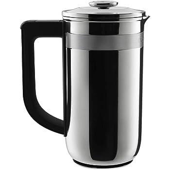 KitchenAid KCM0512SS Precision Press Coffee Maker, Stainless Steel
