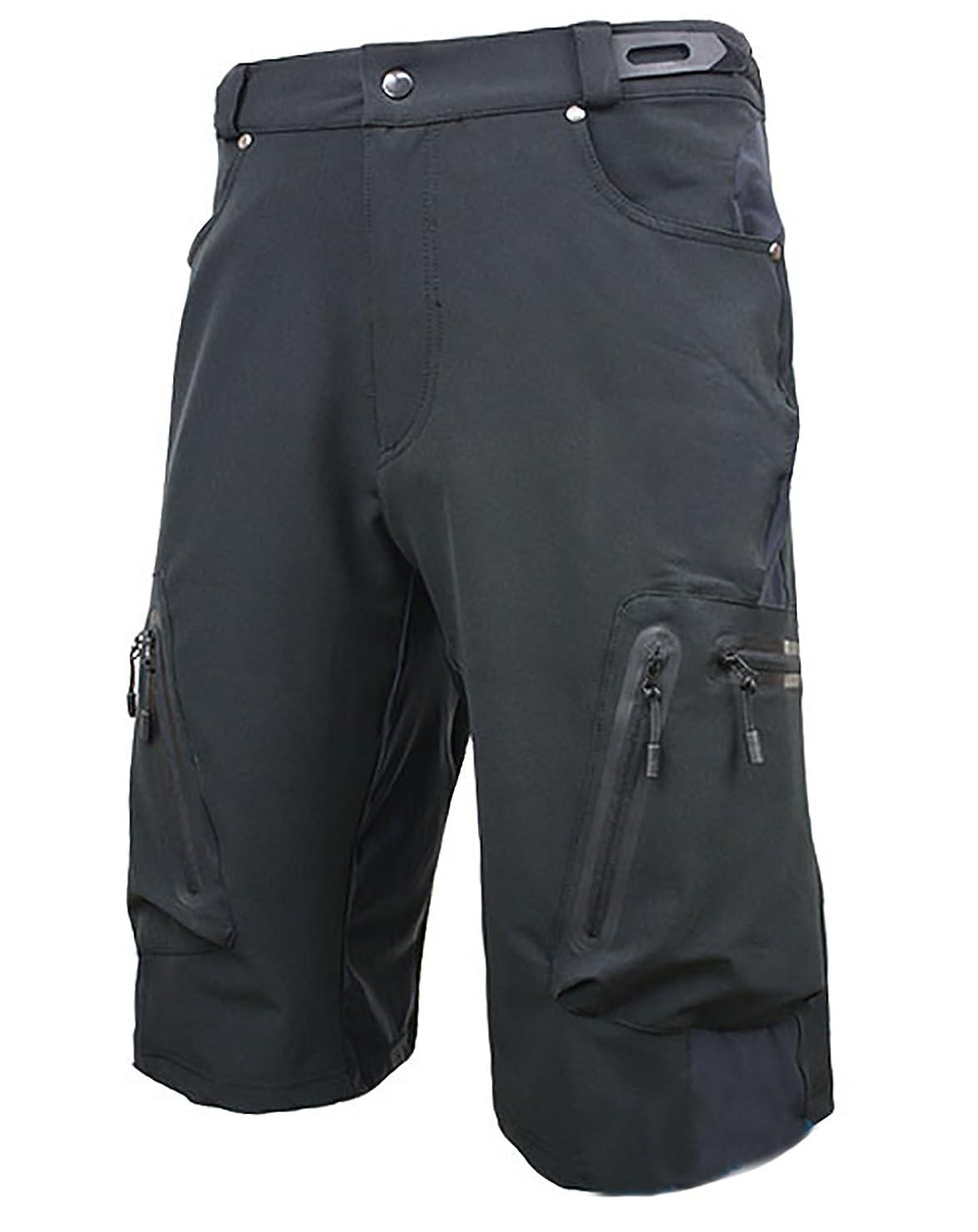 シール芝生サイクルパンツ 登山 メンズ アウトドアウェア 自転車パンツ ショート ハーフパンツ 耐摩 カジュアル
