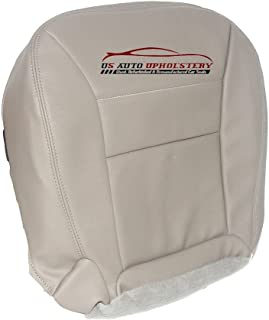 US Auto Upholstery 2002 Ford Escape Driver Side Bottom Synthetic Leather Seat Cover Tan