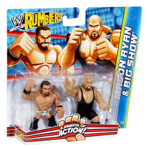 MASON RYAN & BIG SHOW WWE RUMBLERS FIGURES