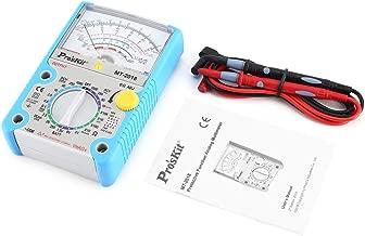 Liobaba Pros'Kit Analog Multimeter Safety Standard DC AC Voltage Resistance Multimeter