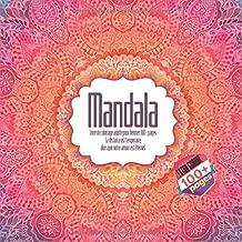 Livre de coloriage adulte pour femmes Mandala 100+ pages - La distance est temporaire, alors que notre amour est éternel. (French Edition)