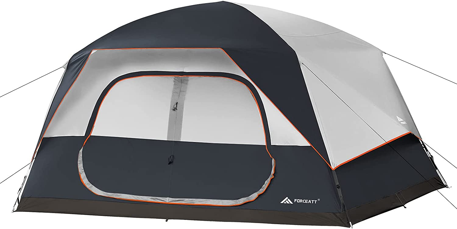 Forceatt Tent for 2 Deluxe 4 6 8 wit 3-4 in Camping Super popular specialty store Person Seasons