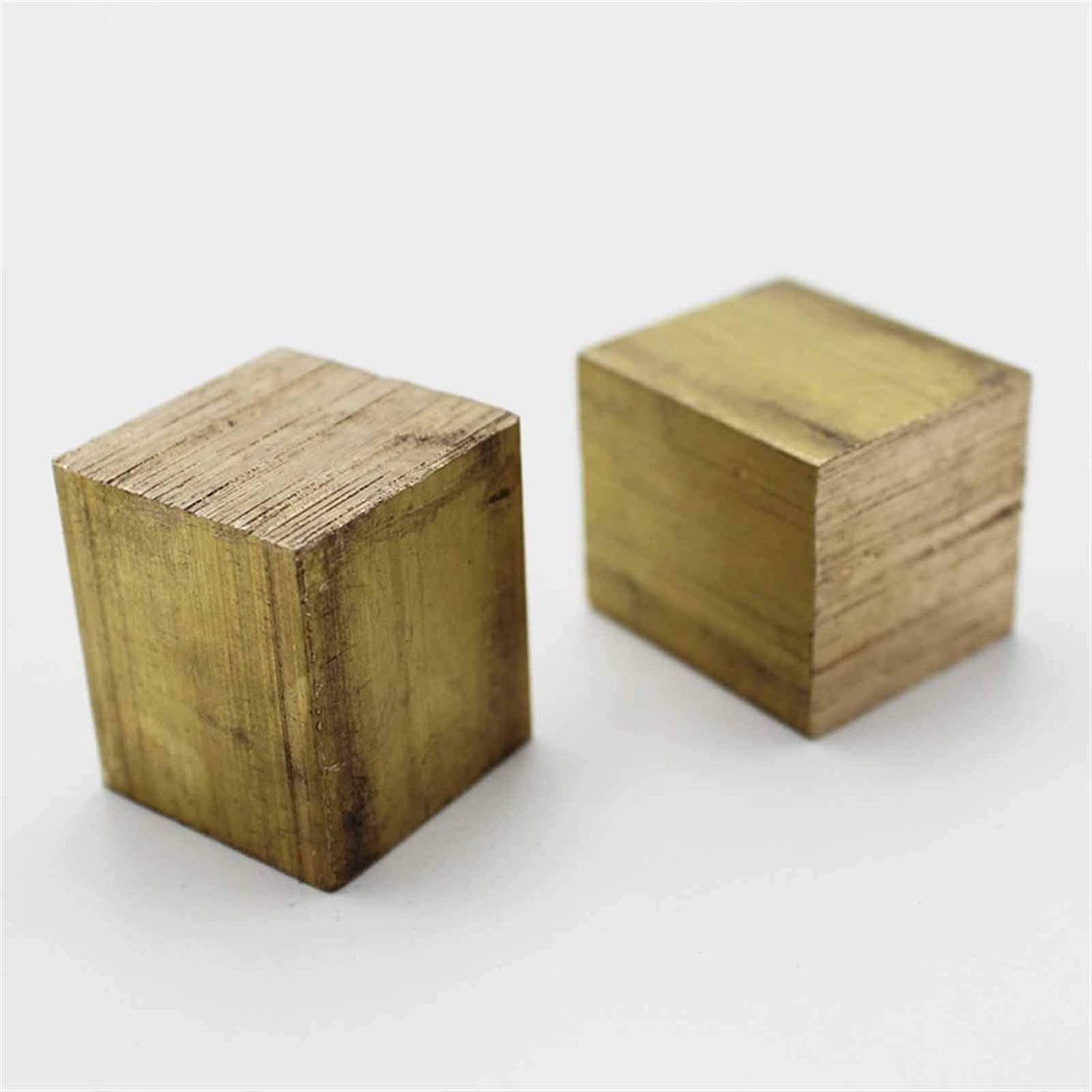 IINSSDJ DIY Hardware Accessories Square Brass Block For Welding And Brazing Good Electrical Conductivity Thermal Conductivity Size : 20x20x20mm 1pc
