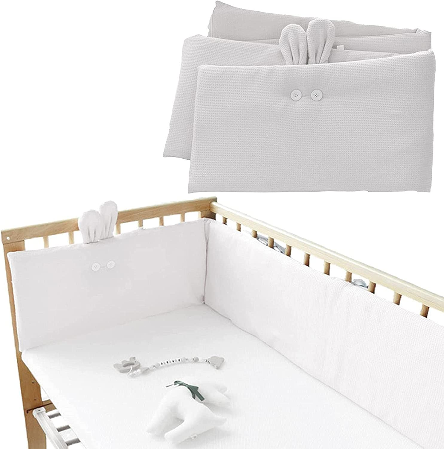 Courier shipping free A Baby Sales Crib Liner Friendly Cotton Anti-Bump Bumper Pads