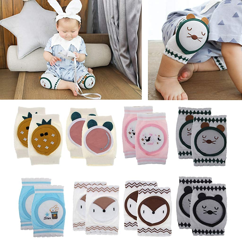 CHBC Baby Knee Pad Kids Safety Crawling Elbow Cushion Infant Toddlers Baby Leg Warmer Knee Support Protector Baby Kneecap
