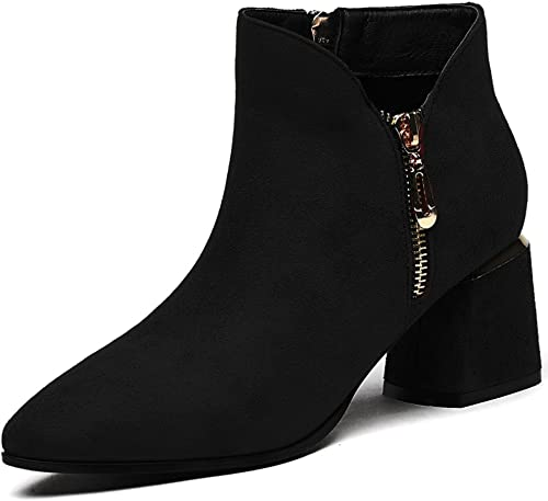 chaussures Xiaolin Chaussures Simples Pointues Noires Talons Simples Simple 6cm