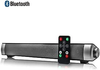 CplaplI BS-28B Sound Blaster Altavoz Bluetooth Tarjeta Inal/ámbrica Est/éreo Largo TV Altavoz De TV Barra De Sonido Bluetooth TV Cine En Casa Altavoz Est/éreo